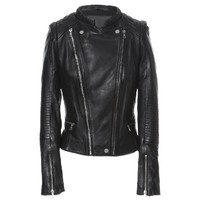 Leather jacket - Gang Leader - Leather jackets - Jackets & Outerwear - Women - Modekungen