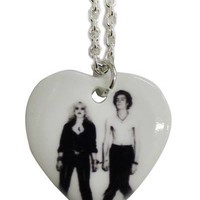 Sid and Nancy Small Heart Pendant