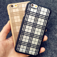 Unique Lattice Case Cover for iPhone 5s 6 6s Plus Gift-153