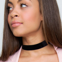 Do I Wait Velvet Choker