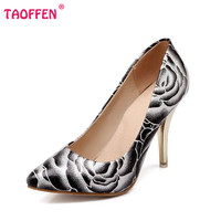 women stiletto high heel shoes pointed toe spring sweet footwear lady spring fashion heeled pumps heels shoes