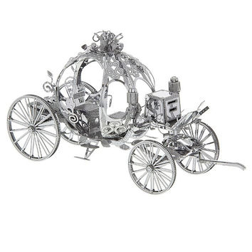 Disney Parks Cinderella Carriage Metal Model Kit 3D New