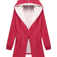 Thick Padded Hooded Coat