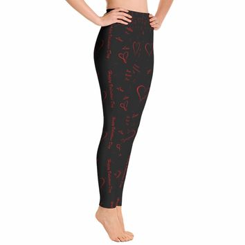 Valentines Heart Leggings