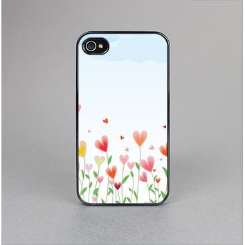 The Field of Blooming Hearts Skin-Sert Case for the Apple iPhone 4-4s