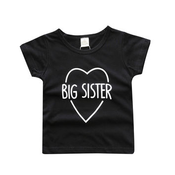 T-shirt boys and girls, big Brother/Sister