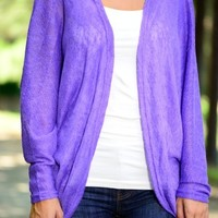 Purple Love Cardigan from The Wild Orchid