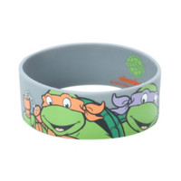 Teenage Mutant Ninja Turtles Characters Rubber Bracelet