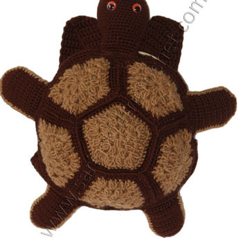 Boys Brown Turtle Backpack for Boys - Brown Turtle Backpack for Toddler Boys - Crochet Turtle Backpack for Boys- Brown Turtles