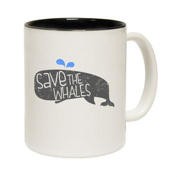 123t USA Save The Whales Funny Mug