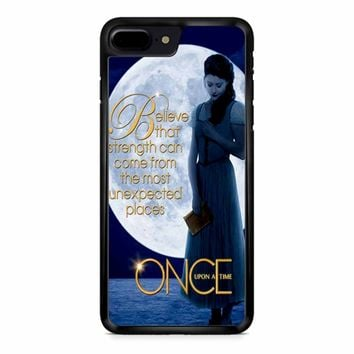 Once Upon A Time Belle Full Moon iPhone 8 Plus Case