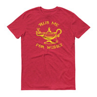 Rub Me for Wishes Magic Lamp T-Shirt