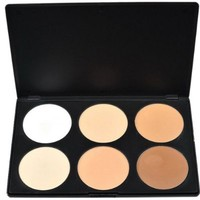 Professional 6 Colors Contour Face Powder Makeup Blush Palette