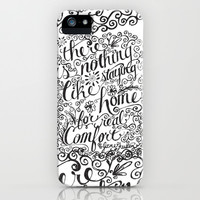 there is nothing like staying home... iPhone & iPod Case by Matthew Taylor Wilson