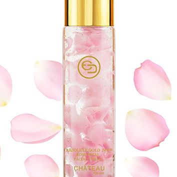 Absolute Gold 24K ROSE PETAL FACIAL TONER - 24 KARAT GOLD / COLLAGEN. For all skin types. 3.33...