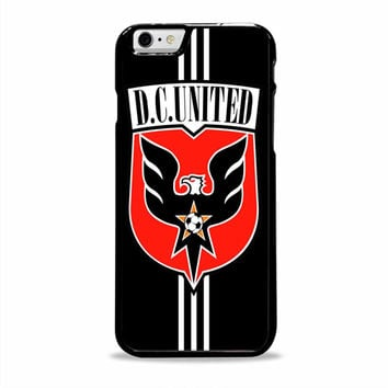 dc united logo sport Iphone 6 plus Cases