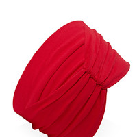 FOREVER 21 Wide Ruched Knit Headwrap