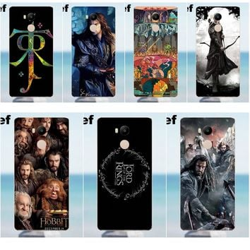 For Xiaomi Redmi 4 3 3S Pro Mi3 Mi4 Mi4i Mi4C Mi5 Mi5S Mi Max Note 2 3 4 Soft Screen Protector The Lord Of The Rings Map Hobbit