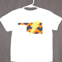 OKC Oklahoma City Thunder Boys Shirt