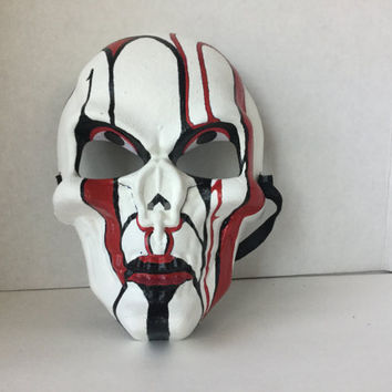 Mask, Halloween Mask, Skull Mask, Art Mask, Painted Mask, Day of Dead Mask, Wall Art, Collectible