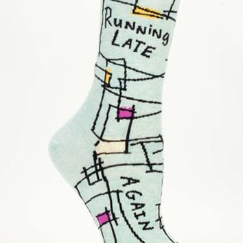 SOCKS - RUNNING LATE..AGAIN!