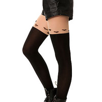The Heart Garter Tights