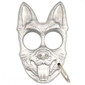 Wolf Hunter K-9 Self Defense Personal Protection Keychain