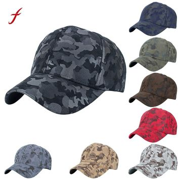 Camouflage snapback polyester cap blank flat camo baseball cap with no embroidery mens cap and hat for men and women