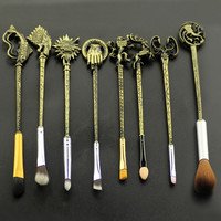 Game of Thrones Makeup Brush (Set of 8)