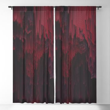 Sangre Blackout Curtain by duckyb