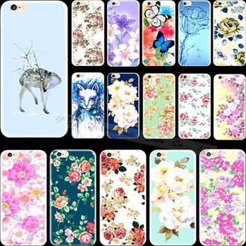 Very Suprise Cute Sika Deer Silicon Phone Shell Cover For Apple iPhone 4 iPhone 4S iPhone4 iPhone4S Case Cases High Quality