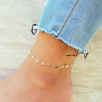 Satellite Anklet