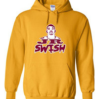 "J.R. Smith Cleveland Cavaliers ""J.R. Swish"" Hooded Sweatshirt ADULT SMALL"