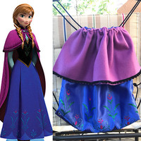 Disney's Frozen Anna Inspired Drawstring Bag
