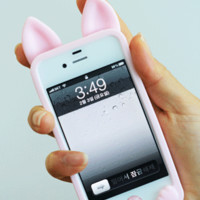IPHONE 4/4s & 5 CAT EAR CASE