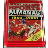 Back To The Future Grays Almanac Acrylic Paperweight