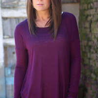 Free Falling Tunic {Purple}