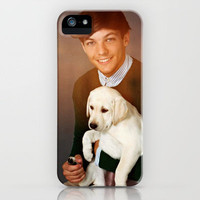 Louis Tomlinson One Direction Labrador Retriever Puppy iPhone Case by Toni Miller | Society6