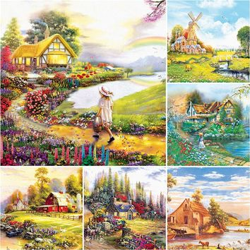 Jigsaw puzzle 1000 pieces Fantasy Landscapes kids puzzles educational toys for adults children toy home decoration collectiable