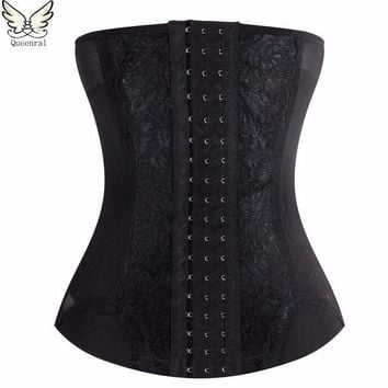 VONEGQ Corset  Waist trainer corsets Steel boned steampunk party  sexy corselet and bustiers Gothic Clothing Corsage modeling strap