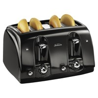 Sunbeam 4 Slice Toaster - Black