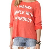Wildfox Dance with Somebody Top   SHOPBOP