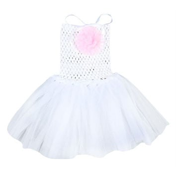 10 Colors Baby Toddler Infants Girls Sweet Cute Party Chiffon Tutu Dress Newborn 0-5 YearsSM6