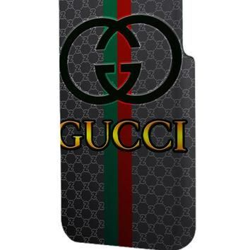 Best 3D Full Wrap Phone Case - Hard (PC) Cover with Gucci Logo Design