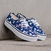 HCXX Vans x Peanuts Authentic Kids 'Skating Snoopy' VA38H3OQW