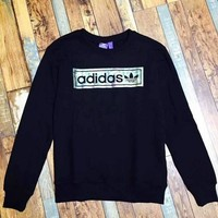 ONETOW Adidas fine cotton really sweater men and women with the paragraph    F-A-XYCL