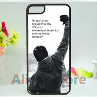 Rocky Balboa Motivational Words fashion mobile phone case cover for iphone 4 4s 5 5s 5c 6 & 6 plus E3750