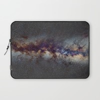 The Milky Way: from Scorpio, Antares and Sagitarius to Scutum and Cygnus Laptop Sleeve by Guido Montañés