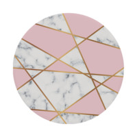 Pink / Gold Marble Pop It