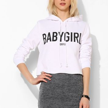 DimePiece X UO Baby Girl Cropped Pullover Hoodie Sweatshirt - Urban Outfitters